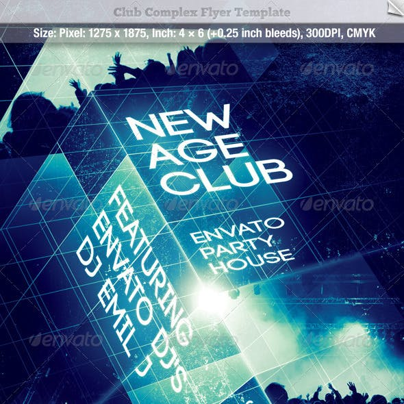 Club Complex Flyer Template