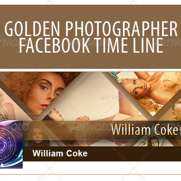 Golden Photographer Facebook Timeline Cover