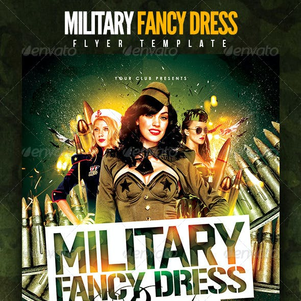 Military Fancy Dress Party