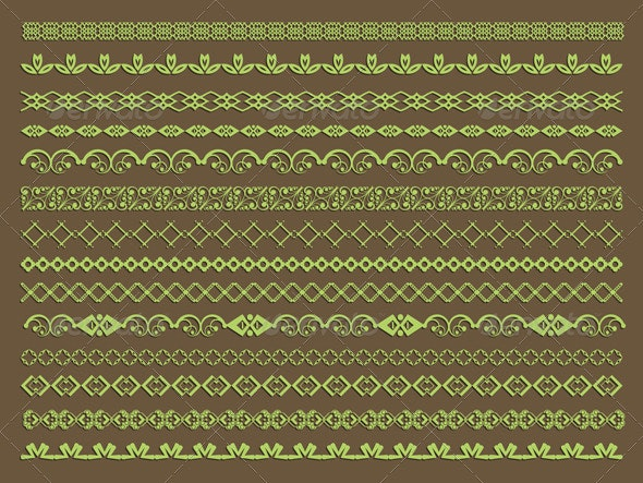Decorative border designs - Borders Decorative