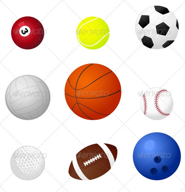 Sports balls2 - Man-made Objects Objects