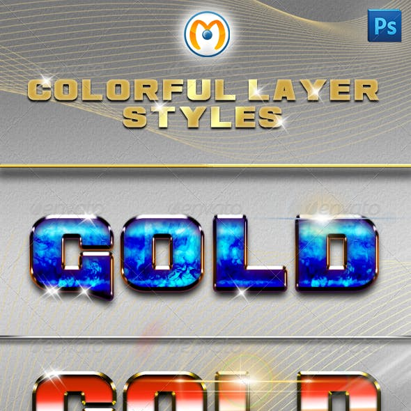 Colorful Layer Styles