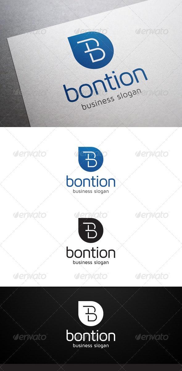 Bontion B Letter Logo