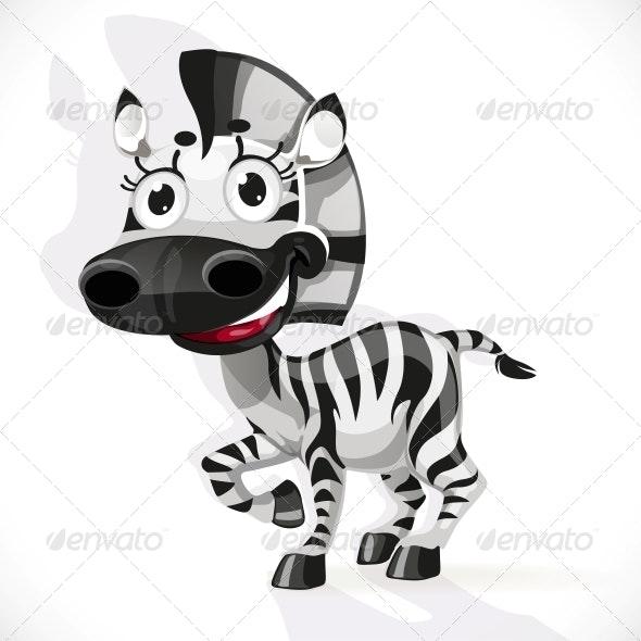 Baby Zebra - Animals Characters