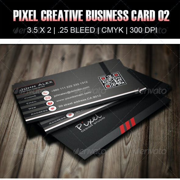 Pixel Creative Business Card 02