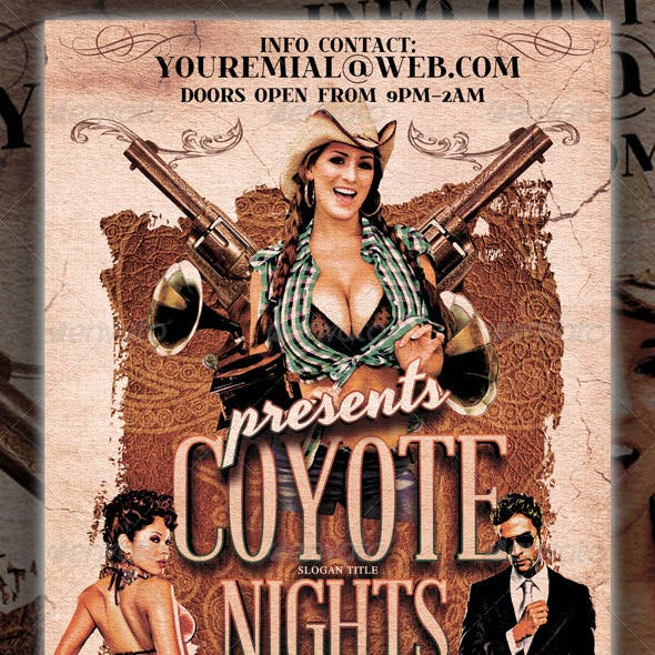 Coyote Nights Party