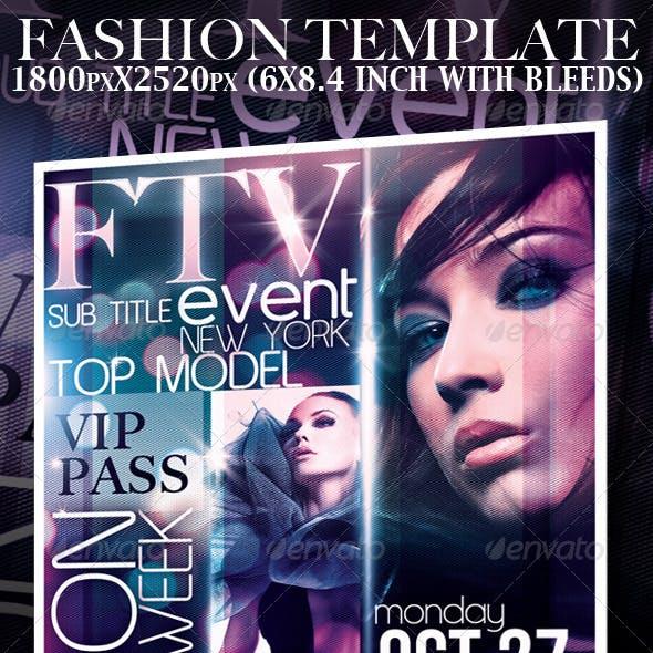 Fashion Event Template