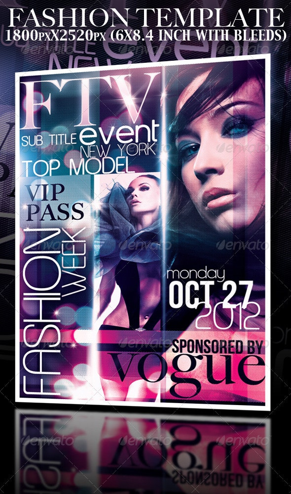 Fashion Event Template - Miscellaneous Events
