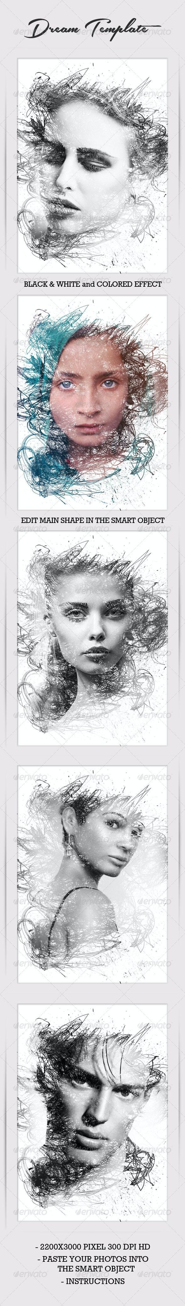 Dream Photo Template - Photo Templates Graphics