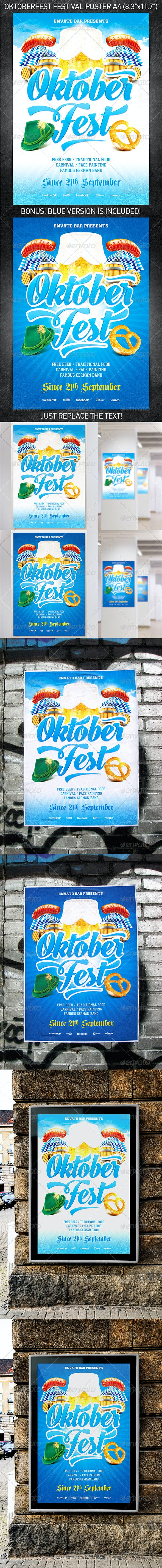 Oktoberfest Festival Poster Vol.2 - Holidays Events