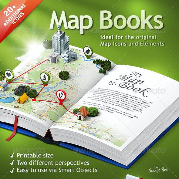 Map Books – The stage for your 3D Maps and Icons