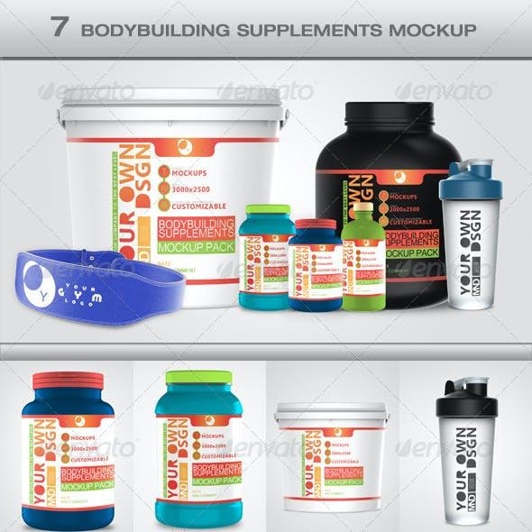 Bodybuilding Mockup Pack