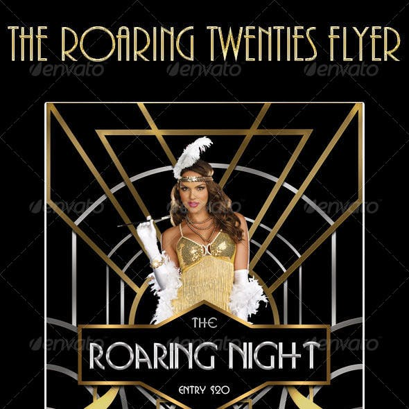 The Roaring Twenties Flyer