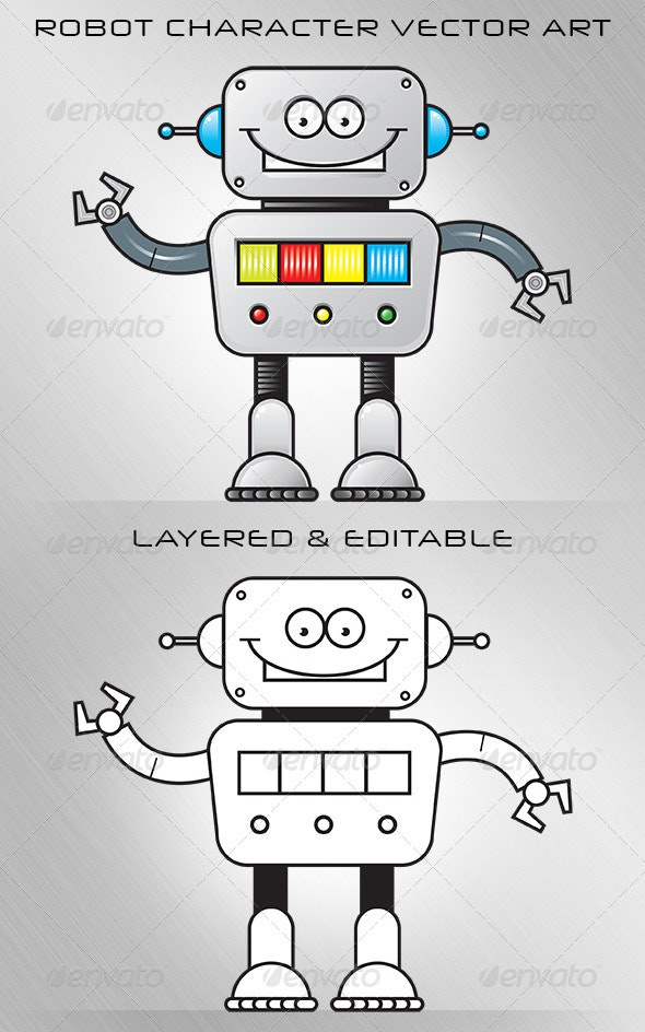 Robot Cartoon - Miscellaneous Characters