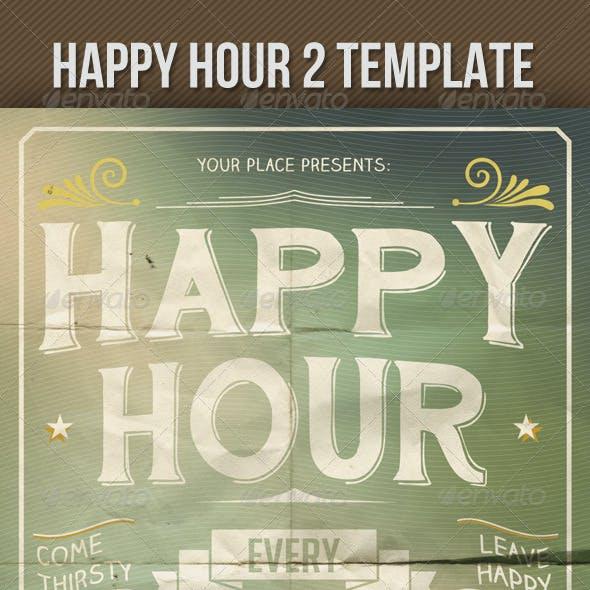 Happy Hour Indie Flyer Vol. 2