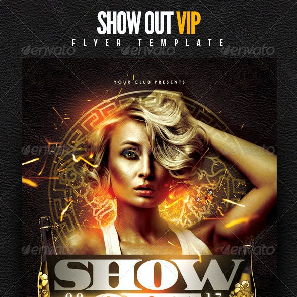Show Out VIP Flyer Template