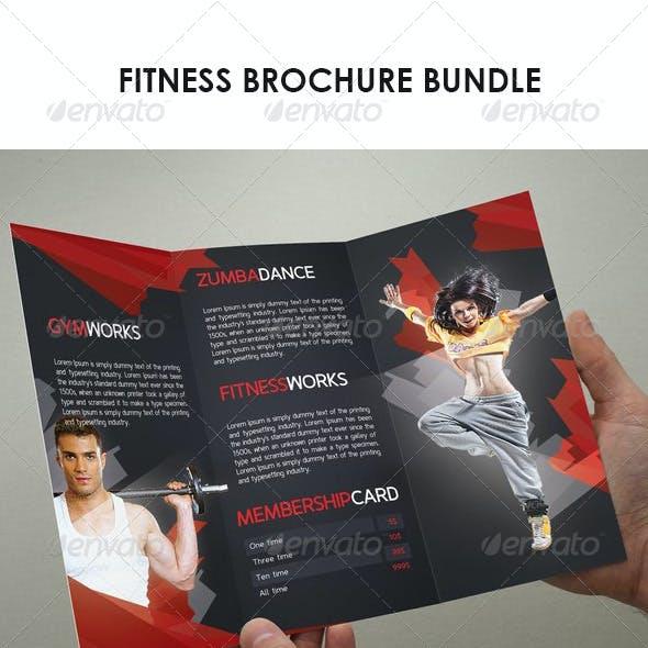Fitness Brochure Bundle