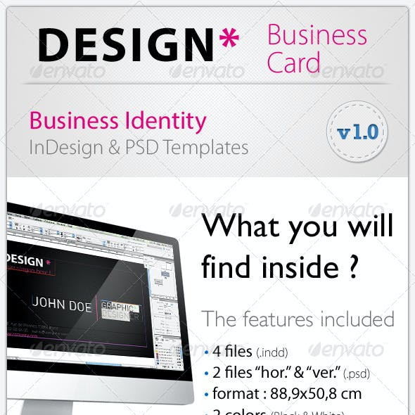 Design* Business Card