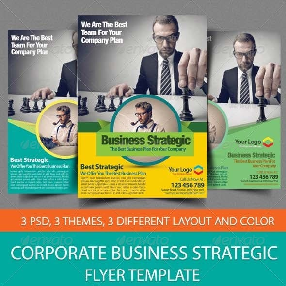 Download Corporate Business Strategic Flyer Template