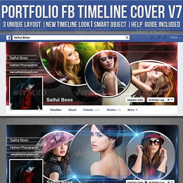 Portfolio Facebook Timeline Cover V7