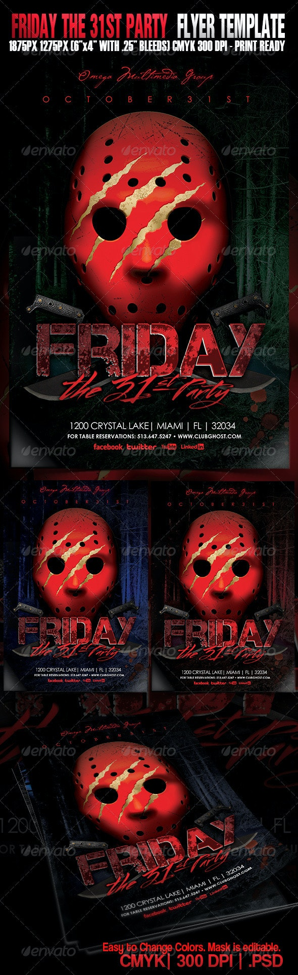 Friday The 31st Party - Events Flyers