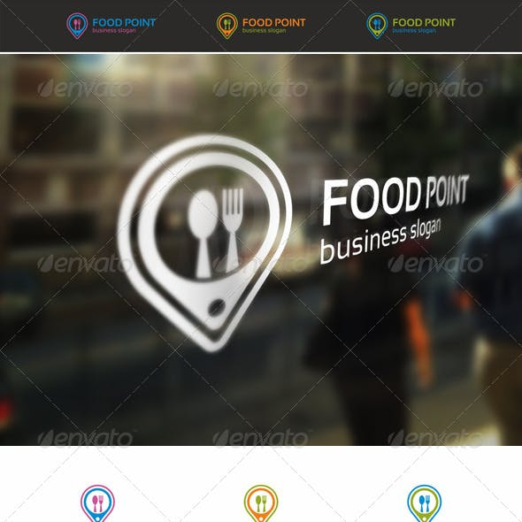 Food Point Locator Logo