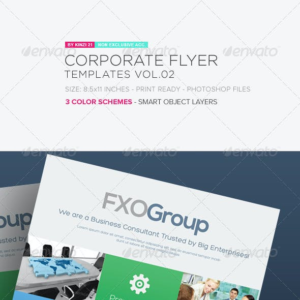 Corporate Flyer Templates Vol.02