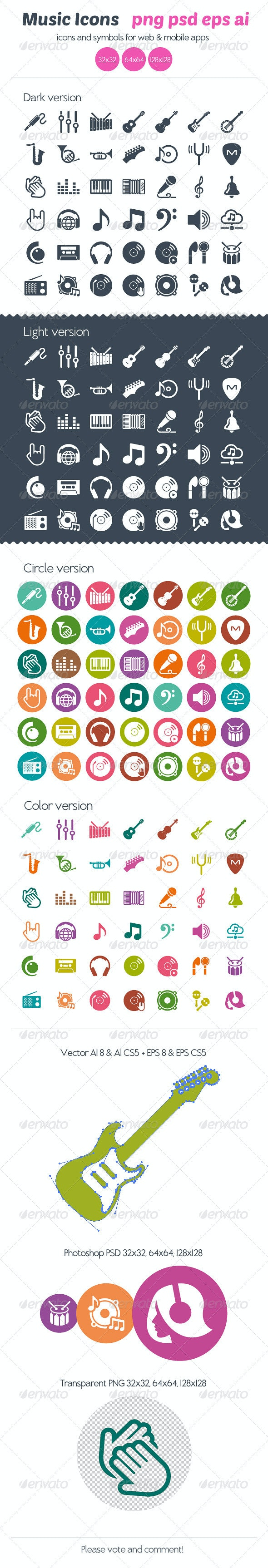 Music Icons - Icons
