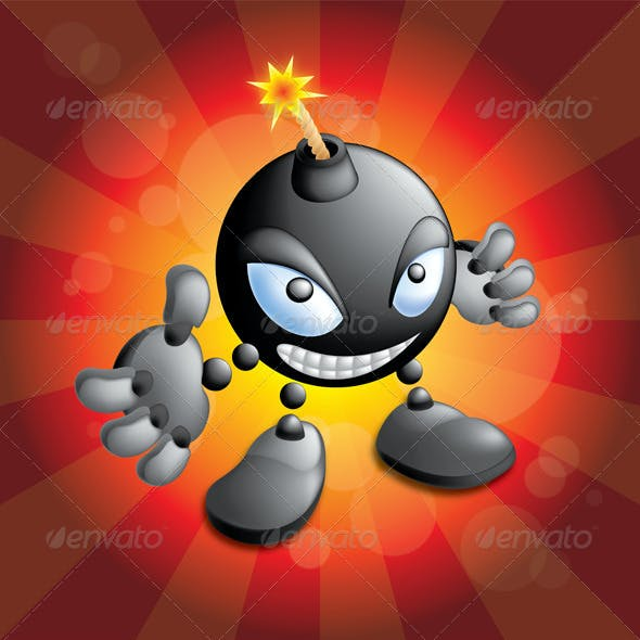 Bomb Mascot