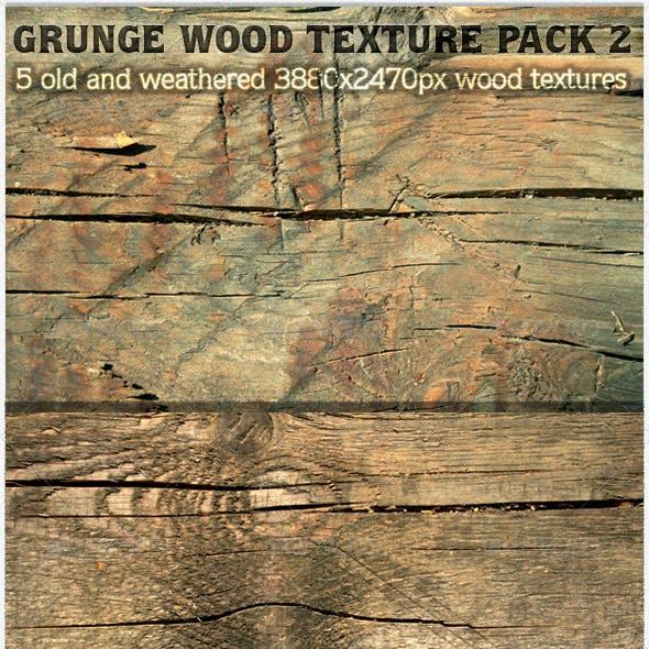 Grunge Wood Texture Pack 2