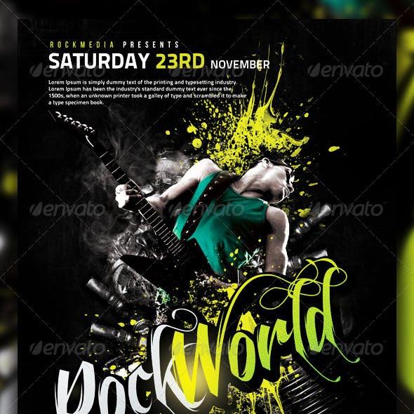 Rock Flyer / Poster