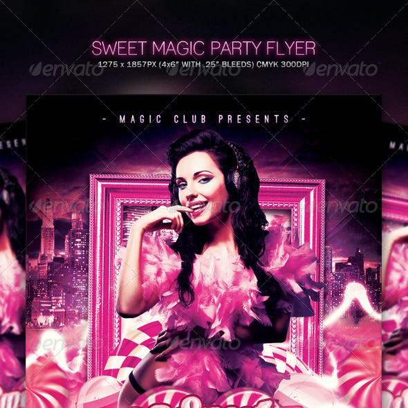 Sweet Magic Party Flyer