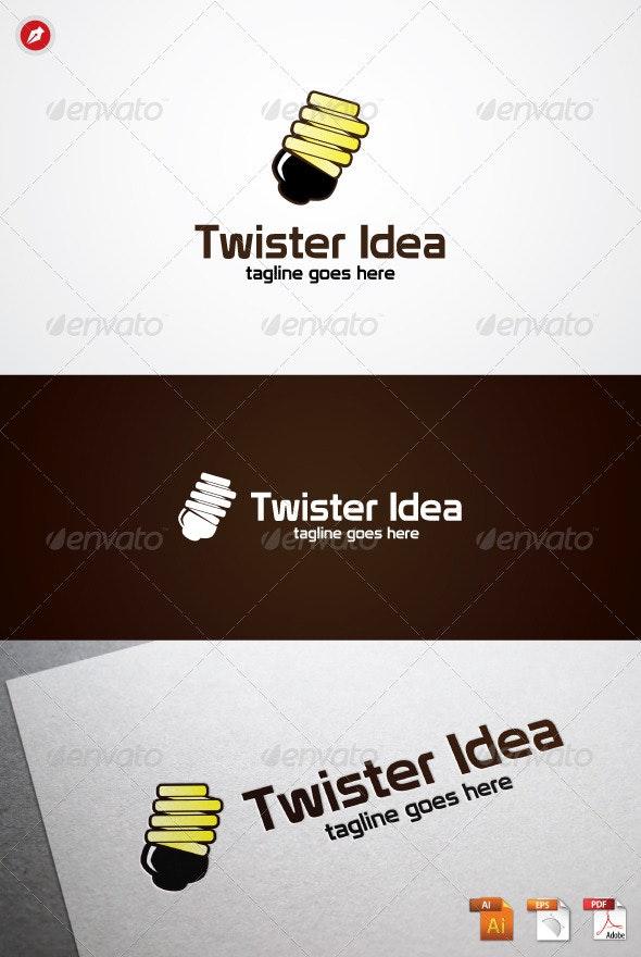 Twister Idea Logo - Objects Logo Templates