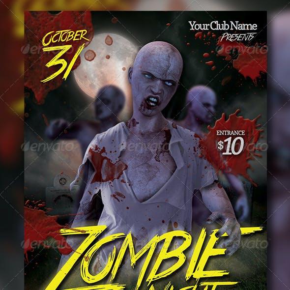 Zombie Night Flyer Vol 2