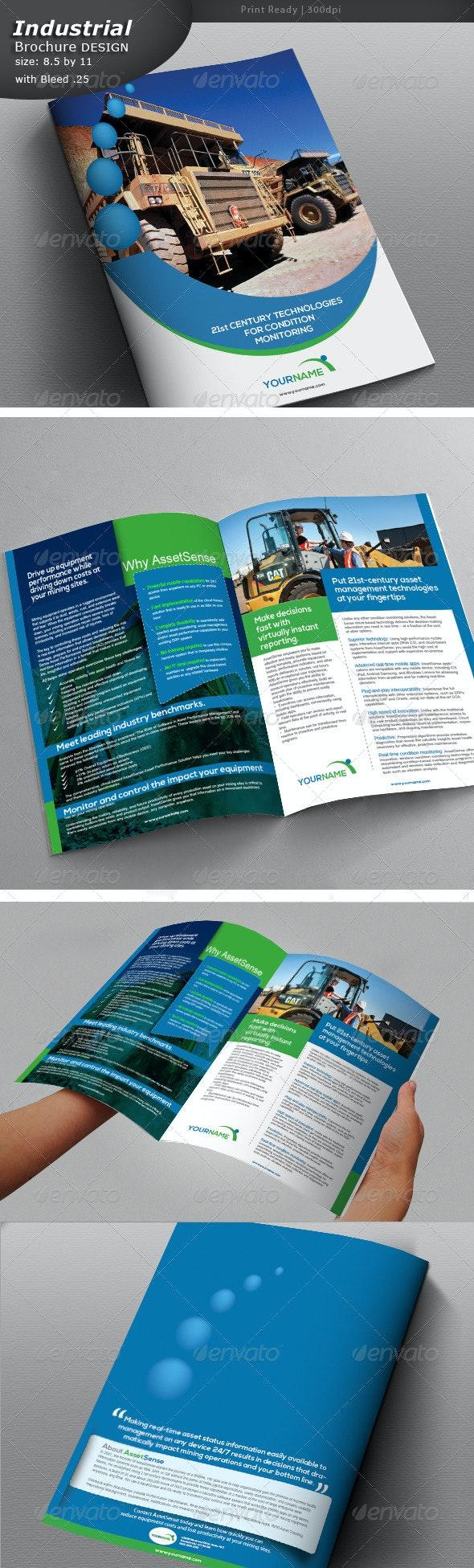 Construction Company Brochure  - Brochures Print Templates