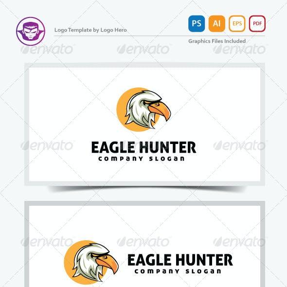 Eagle Hunter Logo Template