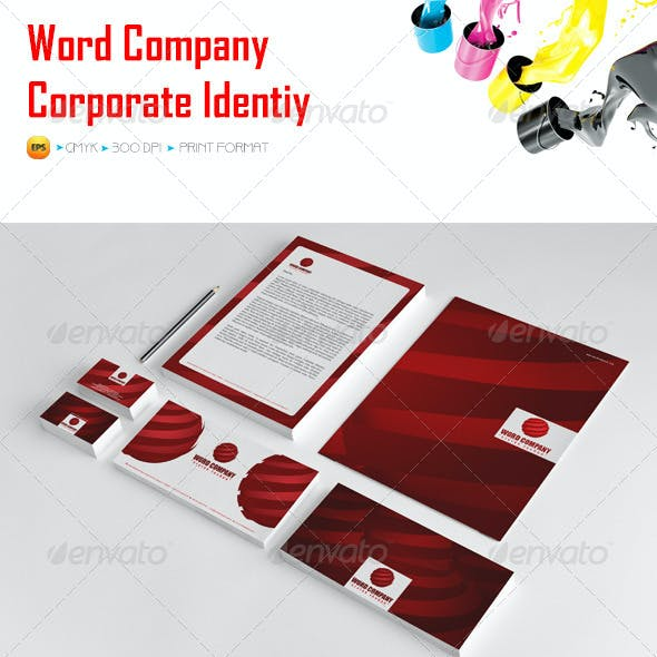 Word Company Corporate Identity Package