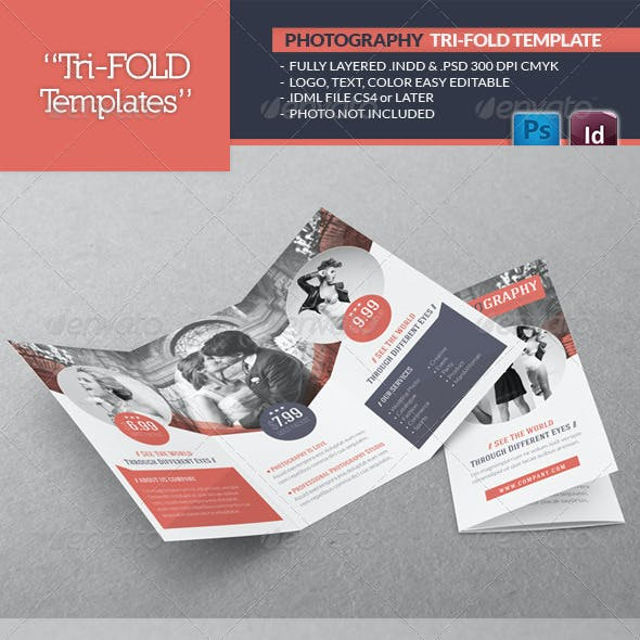 Photography Tri-Fold Template