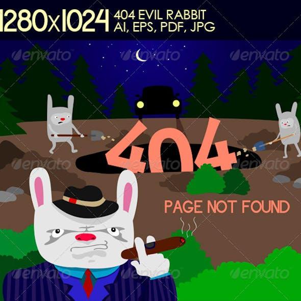 404 Evil Rabbit