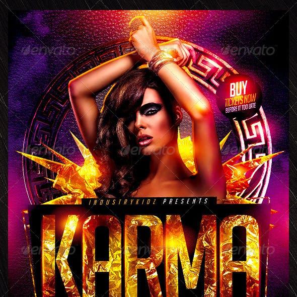 Karma Flyer Template