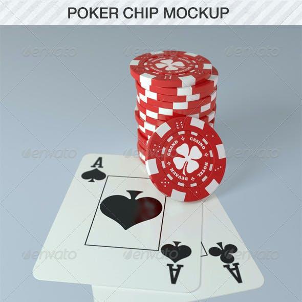 Poker Chip Mockup