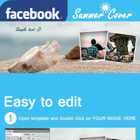 Facebook Cover - Summer Polaroid
