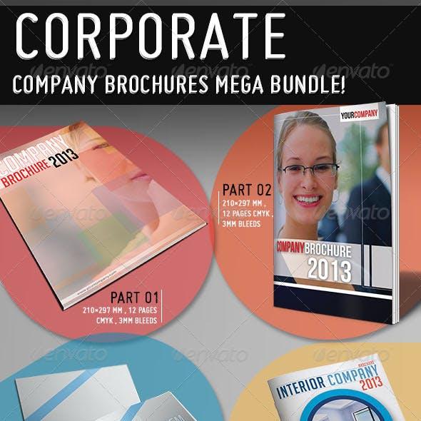 Mega Company Brochure Bundle