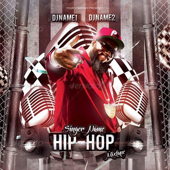 Hip Hop Mixtape CD Cover Template