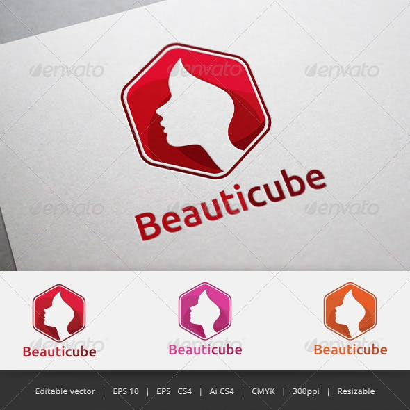 Beauty Cube logo