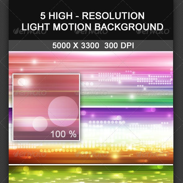 5 Light Motion Background
