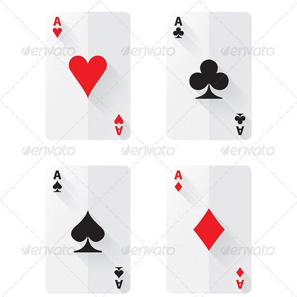 Flat Ace Cards