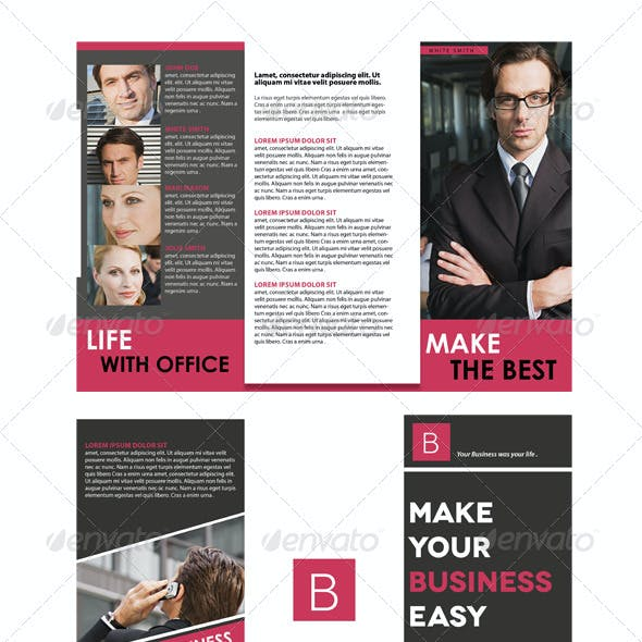 Trifold Brochure + Business Card
