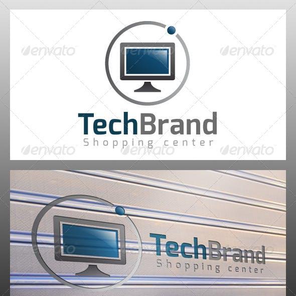 Tech Brand Logo Template