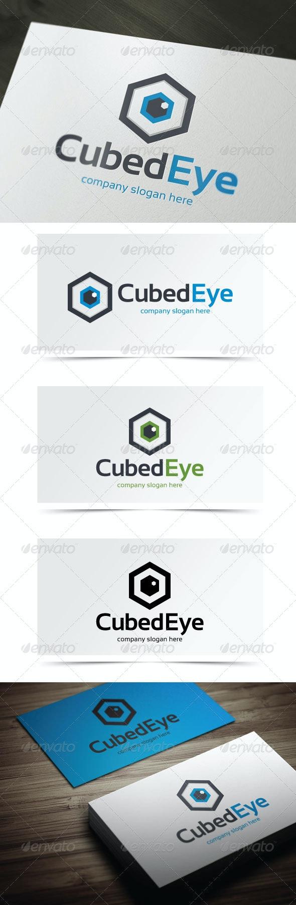 Cubed Eye - Symbols Logo Templates